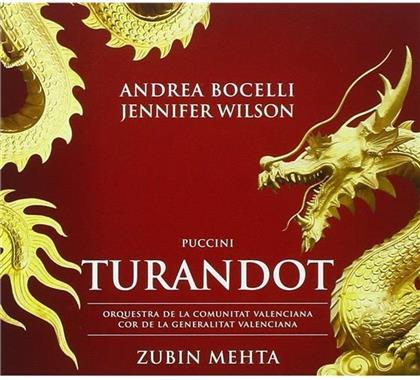 Jennifer Wilson, Giacomo Puccini (1858-1924), Zubin Mehta & Andrea Bocelli - Turandot (Digipack, 2 CDs)