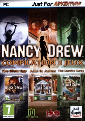 Nancy Drew Compilation 3 jeux