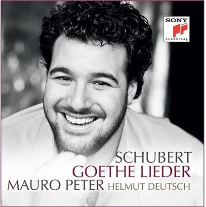 Mauro Peter, Helmut Deutsch & Franz Schubert (1797-1828) - Goethe-Lieder