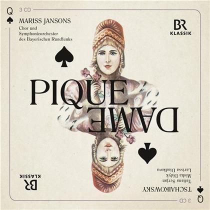 Tatiana Serjan, Misha Didyk, Larissa Diadkova, Mariss Jansons, Symphonieorchester des Bayerischen Rundfunks, … - Pique Dame (Live München 2014) (3 CDs)