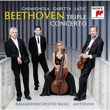 Sol Gabetta, Ludwig van Beethoven (1770-1827), Giovanni Antonini, Giuliano Carmignola, Dejan Lazic, … - Triple-Konzert