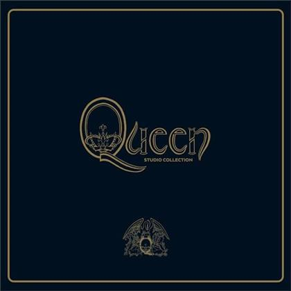 Queen - Studio Collection (Remastered, Colored, 18 LPs + Book)