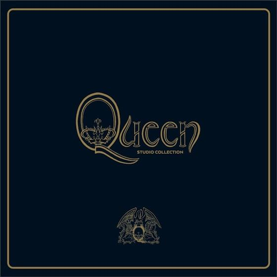 Queen - Studio Collection (Remastered, Colored, 18 LPs + Buch)