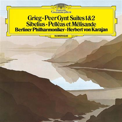 Edvard Grieg (1843-1907), Jean Sibelius (1865-1957), Herbert von Karajan & Berliner Philharmoniker - Grieg: Peer Gynt Suites 1&2, Sibelius: Pelléas Et Mélisande
