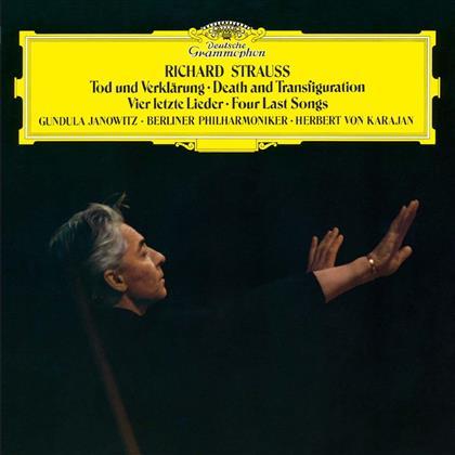Gundula Janowitz, Richard Strauss (1864-1949), Herbert von Karajan & Berliner Philharmoniker - Tod Un Verklärung, 4 Letzte Lieder - Platinum SHM CD
