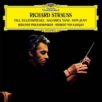 Richard Strauss (1864-1949), Herbert von Karajan & Philharmoniker Berliner - Till Eulenspiegel, Salomes Tanz, Don Juan