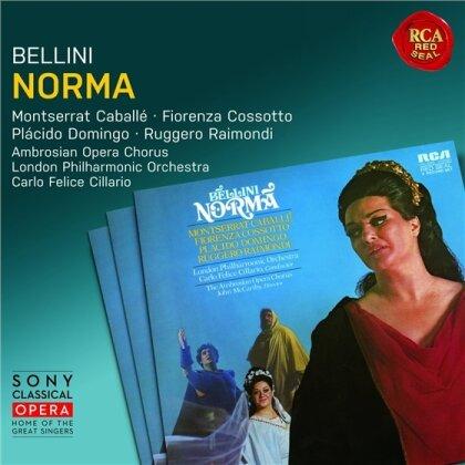 Vincenzo Bellini (1801-1835), Carlo Felice Cillario, Ruggero Raimondi, Montserrat Caballé, Fiorenza Cossotto, … - Norma (Remastered, 3 CDs)