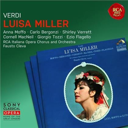 Giuseppe Verdi (1813-1901), Fausto Cleva, Anna Moffo, Shirley Verrett & Carlo Bergonzi - Luisa Miller (Remastered, 2 CDs)