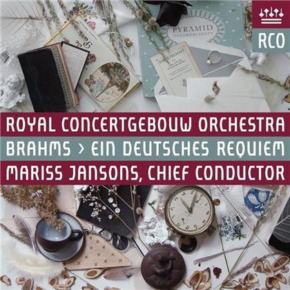 Johannes Brahms (1833-1897), Mariss Jansons & Royal Concertgebouw Orchestra - Ein Deutsches Requiem (Hybrid SACD)