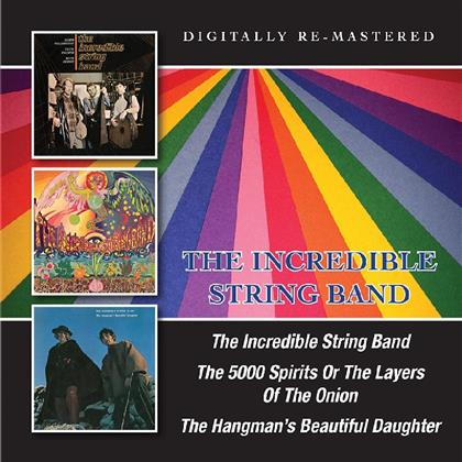 The Incredible String Band - ---/5000 Spirits Or The Layers Of The Onion/Hangman's Beautiful Daughter (Remastered, 2 CDs)