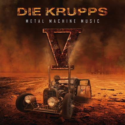 Die Krupps - V - Metal Machine Music - Deluxe Boxset (2 CDs)