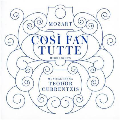 Simone Kermes, MusicAeterna, +, Wolfgang Amadeus Mozart (1756-1791) & Teodor Currentzis - Così Fan Tutte (Highlights)