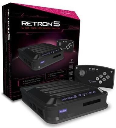 Retron 5 Konsole schwarz