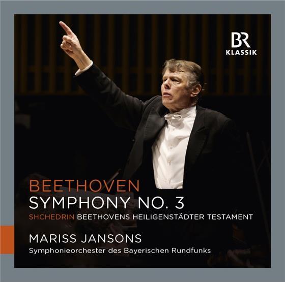 Ludwig van Beethoven (1770-1827), Mariss Jansons & Symphonieorchester des Bayerischen Rundfunks - Sinfonie 3 / Beethovens Heiligenstädter Testament