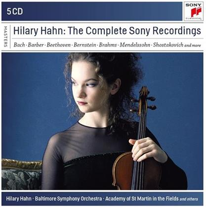 Hilary Hahn - Complete Sony Recordings (5 CDs)
