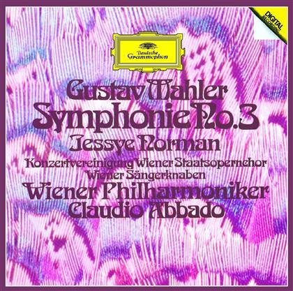 Jessye Norman, Gustav Mahler (1860-1911), Claudio Abbado, Wiener Philharmoniker & Die Wiener Sängerknaben - Symphony No.3 - SHM (2 CDs)