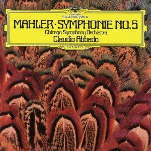 Gustav Mahler (1860-1911), Claudio Abbado & Chicago Symphony Orchestra - Symphonie No. 5 - Symphony No.5 (Japan Edition)