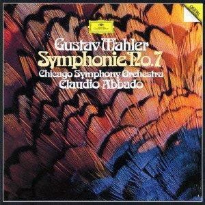 Gustav Mahler (1860-1911), Claudio Abbado & Chicago Symphony Orchestra - Symphonei No.7 (Japan Edition)