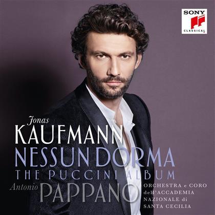 Orchestra e Coro dell' Accademia Nazionale di Santa Cecilia, Giacomo Puccini (1858-1924), Antonio Pappano & Jonas Kaufmann - Nessun Dorma - The Puccini Album