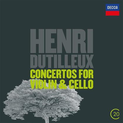 Henri Dutilleux (1916-2013), Charles Dutoit, Pierre Amoyal & Lynn Harrell - Violin & Cello Concertos