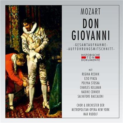 Chor und Orchester der Metropolitan Opera New York, Max Rudolf, Regina Resnik, Polyna Stoska, Nadine Conner, … - Don Giovanni - New York 1947 (2 CDs)
