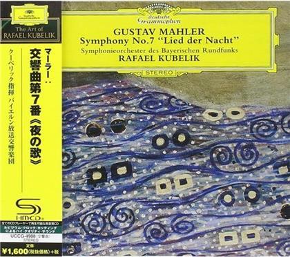 Gustav Mahler (1860-1911), Rafael Kubelik & Symphonieorchester des Bayerischen Rundfunks - Symphony No.7 (Japan Edition)