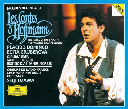 Claudia Eder, Gabriel Bacquier, Seiji Ozawa, Edita Gruberova, Placido Domingo, … - Les Contes d'Hoffmann (2 CDs)