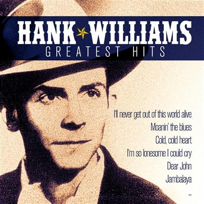 Hank Williams - Greatest Hits - Zyx (2 CDs)