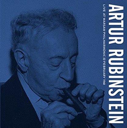 Frédéric Chopin (1810-1849), Witold Rowicki, Arthur Rubinstein & Warsaw Philharmonic - Live At Warsaw Philharmonic 22.2.1960 (LP)