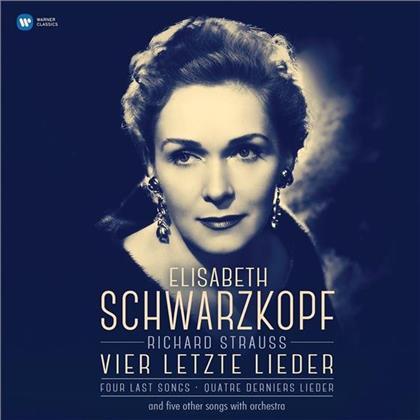 Richard Strauss (1864-1949), George Szell, Elisabeth Schwarzkopf & Radiosinfonieorchester Berlin - Vier Letzte Lieder (LP)