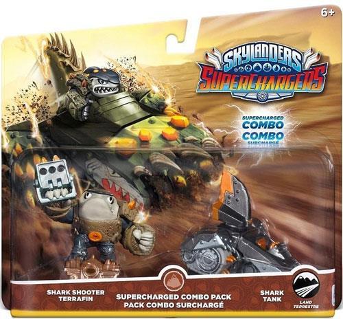 Skylanders SuperChargers Dual Pack 1 (Shark Shooter Terrafin + Shark Tank)