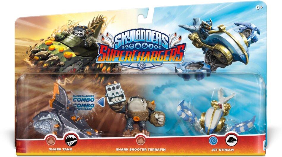 Skylanders Superchargers Multi Pack 1 (Shark Shooter + Shark Tank + Jet Stream)