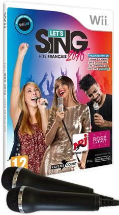 Let's Sing 2016 + 2 Mics Hits français