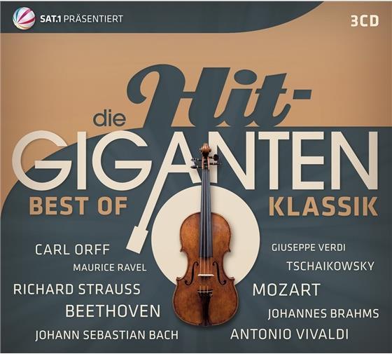 Hit Giganten - Various - Best Of Klassik (3 CDs)