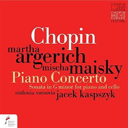 Frédéric Chopin (1810-1849), Jacek Kaspszyk, Mischa Maisky, Martha Argerich & Sinfonia Varsovia - Piano Concerto No. 1