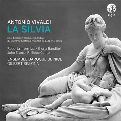 Roberta Invernizzi, Gloria Banditelli, John Elwes, Philippe Cantor, Antonio Vivaldi (1678-1741), … - La Silvia