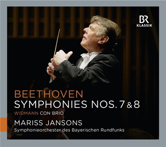 Mariss Jansons, Ludwig van Beethoven (1770-1827) & Widmann - Sinfonien 7+8 / Con Brio