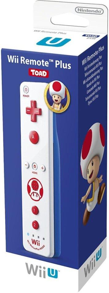 WiiU Remote Plus Toad Edition