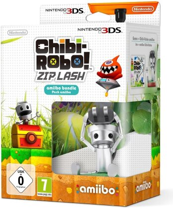 Chibirobo Zip Lash + Amiibo Figur