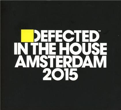 Defected In The House - Various - Amsterdam 2015 (3 CDs)
