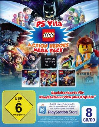 PSVZ Memory Stick 8GB Orig. Lego Pack + Gutschein zum Download Restposten