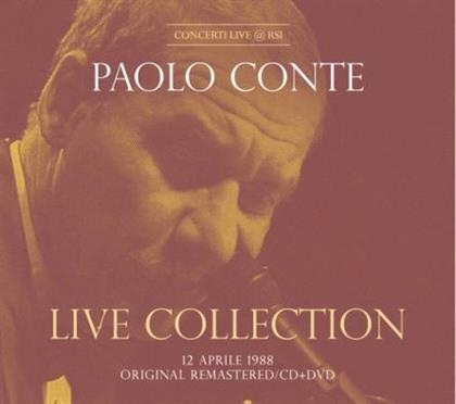 Paolo Conte - Live Collection - Concerto Live @ RSI 12.04.1988 (Digipack, CD + DVD)