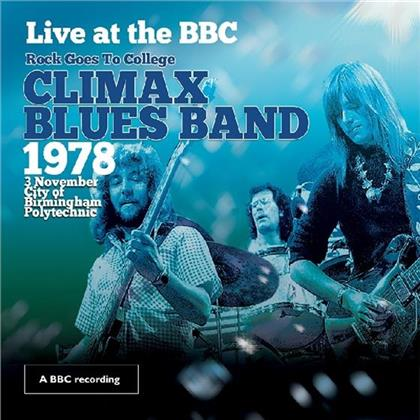 Climax Blues Band - Live At The BBC - Rock Goes To College, 1978 (CD + DVD)
