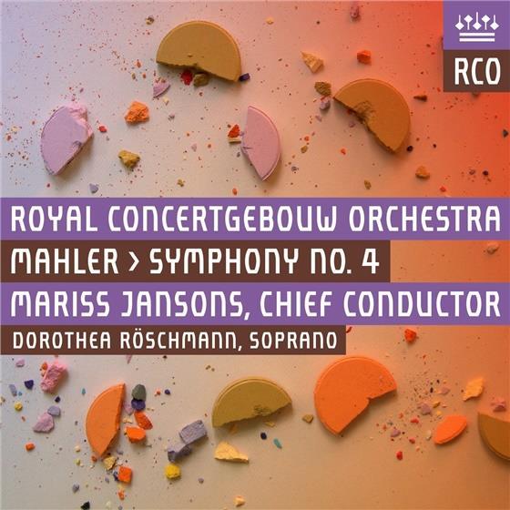 Gustav Mahler (1860-1911), Mariss Jansons, Dorothea Röschmann & Royal Concertgebouw Orchestra - Sinfonie 4 (Live 2015) (Hybrid SACD)