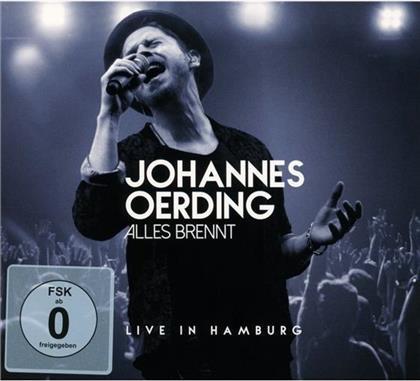 Johannes Oerding - Alles Brennt - Live In Hamburg (CD + Blu-ray)