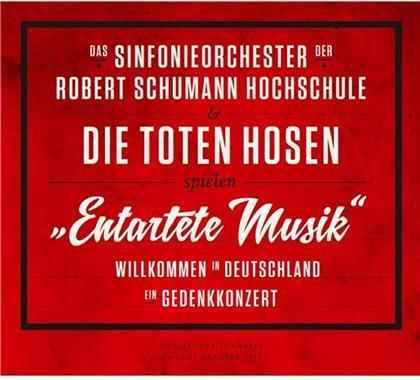 """Die Toten Hosen & Sinfonieorchester Der Robert Schumann Hochschule - """"Entartete Musik"""" Willkommen In Deutschland - Ein Gedenkkonzert (3 LPs + DVD)"""