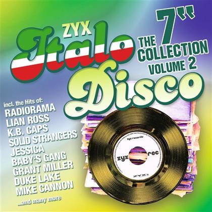 """ZYX Italo Disco: The 7"""" Collection Vol. 2 (2 CDs)"""