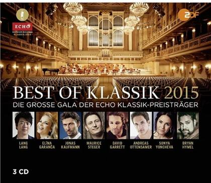 Various Artists - 2 Cds & Various - Best Of Klassik 2015 - Echo Klassik (3 CDs)