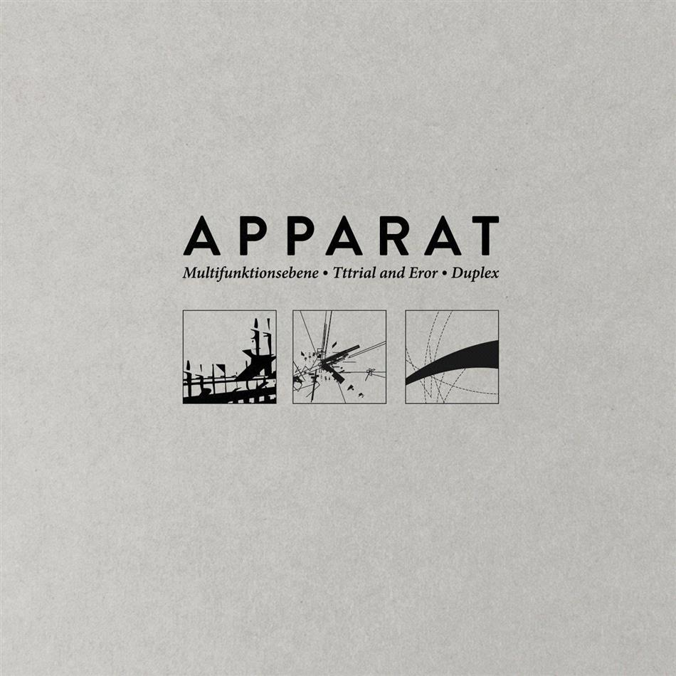 Apparat - Multifunktionsebene/Titrial And Eror/Duplex (3 CDs)