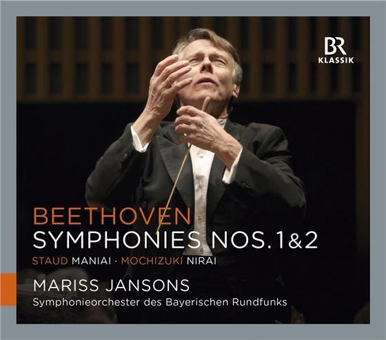 Ludwig van Beethoven (1770-1827) & Mariss Jansons - Sinfonien 1+2, Maniai,Nirai